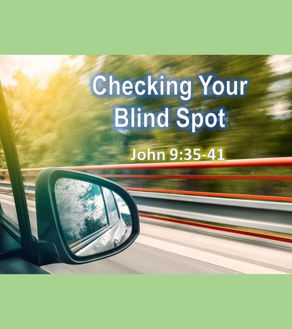 Checking the Blind Spot